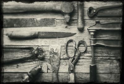 conservar as ferramentas