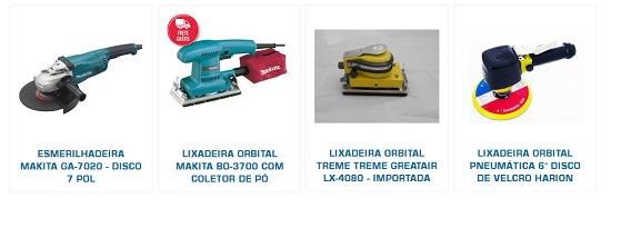 modelos de lixadeiras