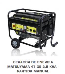 gerador de energia matsuyama